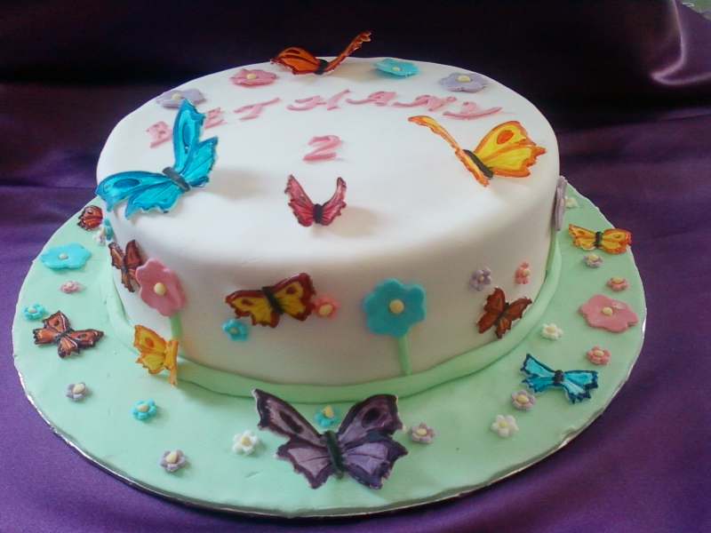 Enjoyable Butterfly Cake Egg Ampdairy Free Funny Birthday Cards Online Overcheapnameinfo