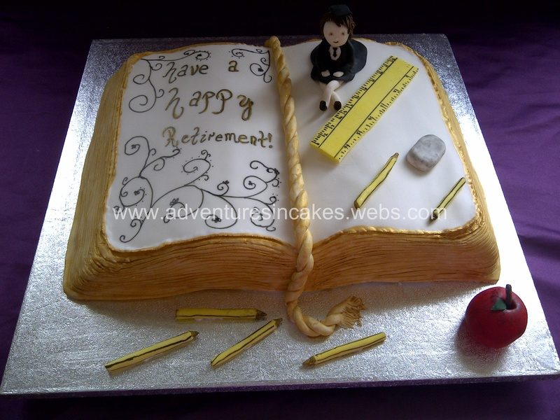 Cake Ideas For Retirement Teachers