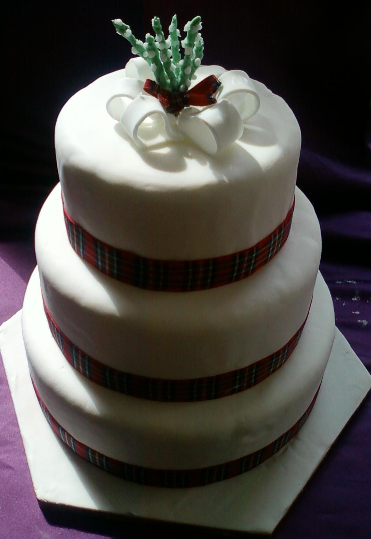Scottish Wedding Cake