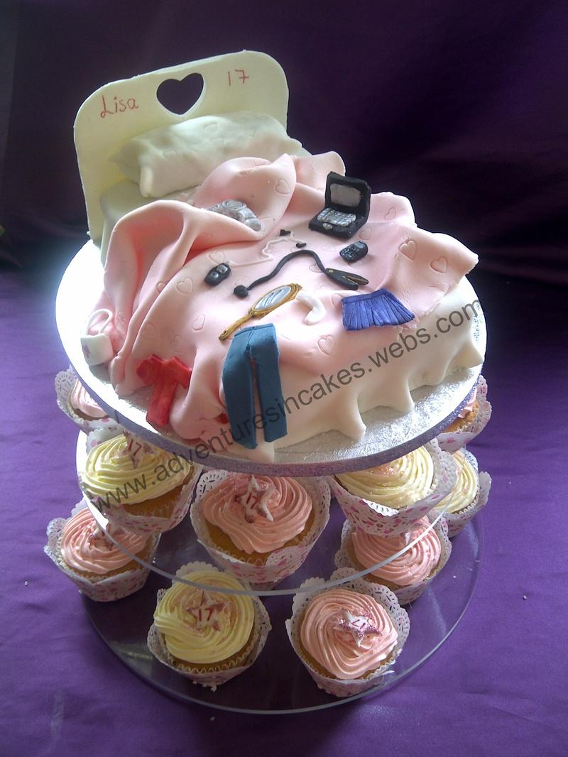 Messy Birthday Cake
